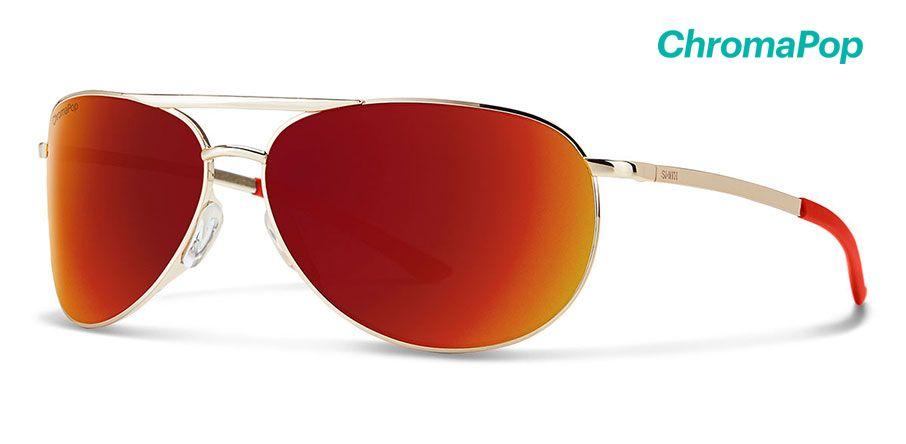 GoldChromaPop Sun Red Mirror
